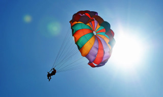 parachute skydive