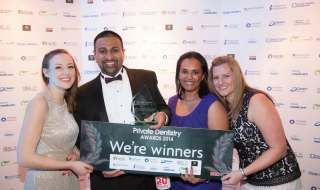 Best Specialist Practice (excluding implants) Winner: Smilelux Highly commended: Ravenscourt Dental Practice