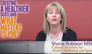 Creating a healthier Scotland