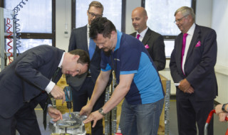 Mr Osborne had an instant feel for the Planmeca production process