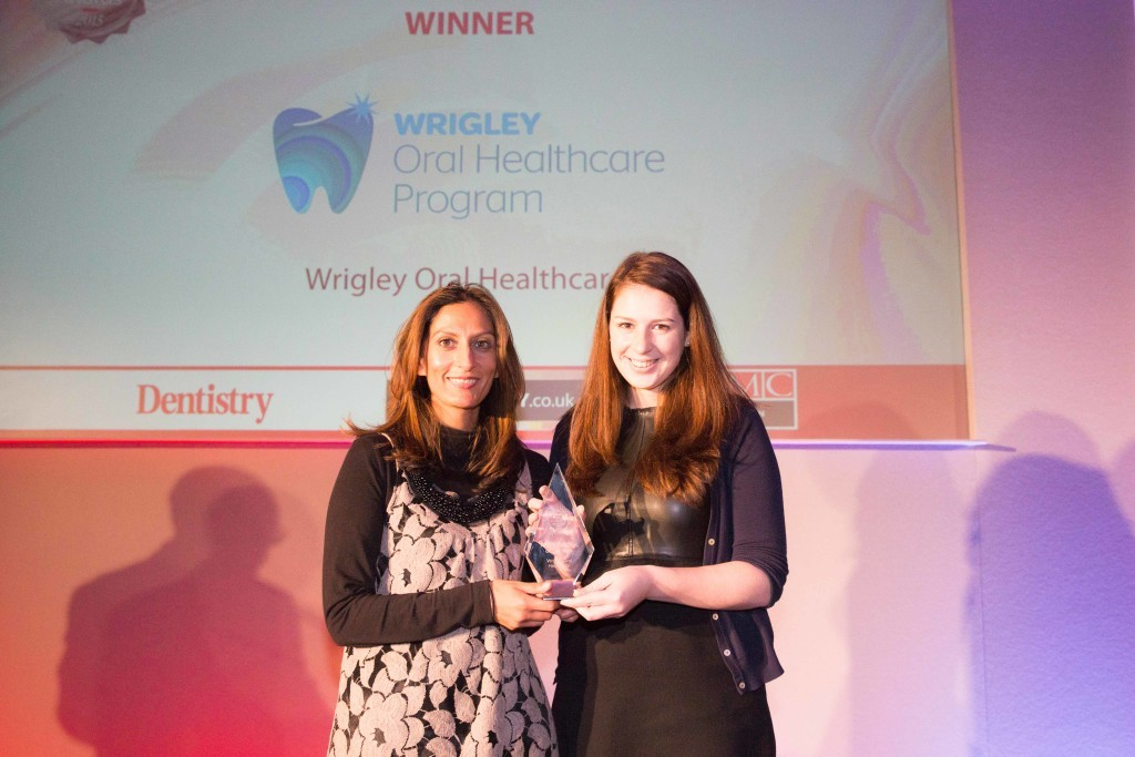 Winner: Wrigley Oral Healthcare