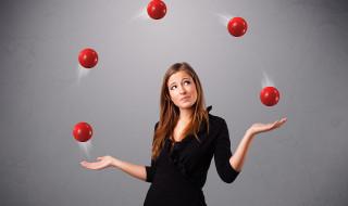 small juggler
