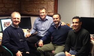 The team – Ian Buckle, Alberto Canabez Berthet, Inigo de Sada, Pablo Salmerón