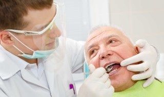 dentist and old man