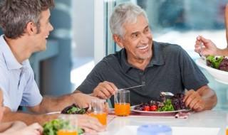 dinner old people
