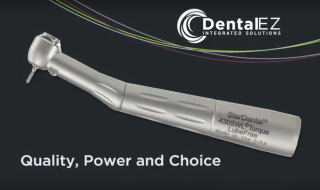 The new ergonomically-designed handpiece delivering power and choice