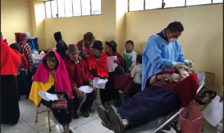 Patient treatment during 'Project Sonrisa'
