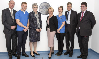 Official Opening of The Exeter Dental Education Facility by Sara Hurley, Chief Dental Officer *** Local Caption *** Exeter Dental Education Facility, Peninsula Dental School Exeter DEF PUPSMD