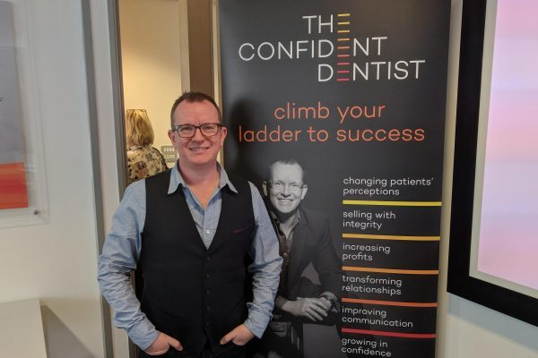 confident dentist