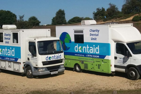 Dentaids two mobile dental units
