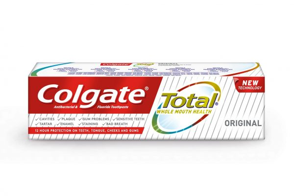 New Colgate Total toothpaste promotes whole mouth health
