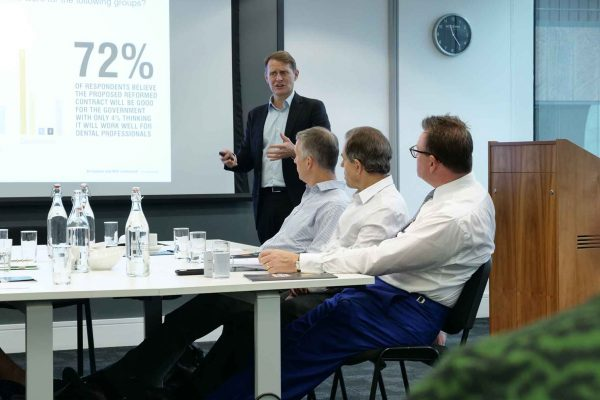 Panel discusses Dentistry Confidence Monitor results