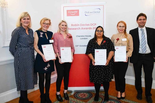 Winners of the Robin Davies DCP Awards