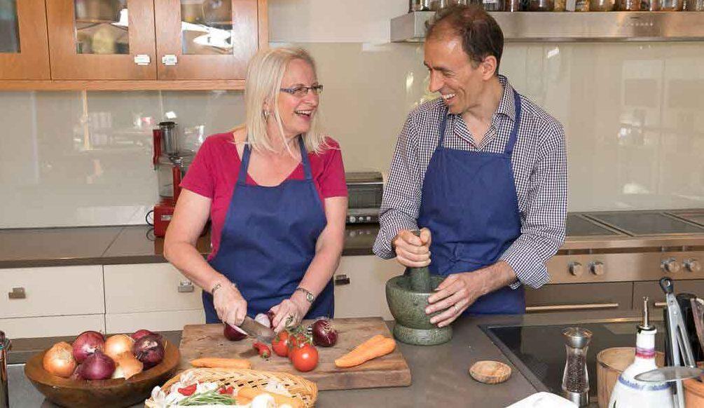 James Goolnik has released a new recipe book, kick sugar
