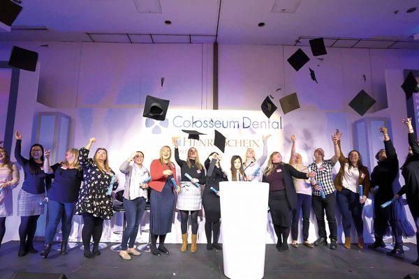 Colosseum Dental UK award winners