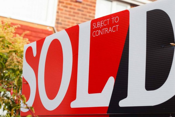 Sold sign as dental practice prices continue to rise in 2019