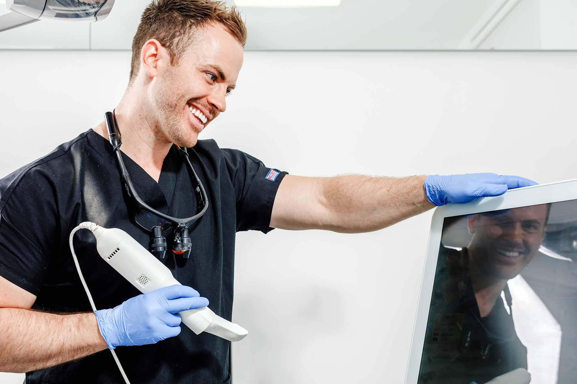 David Bretton his role as a general dentist