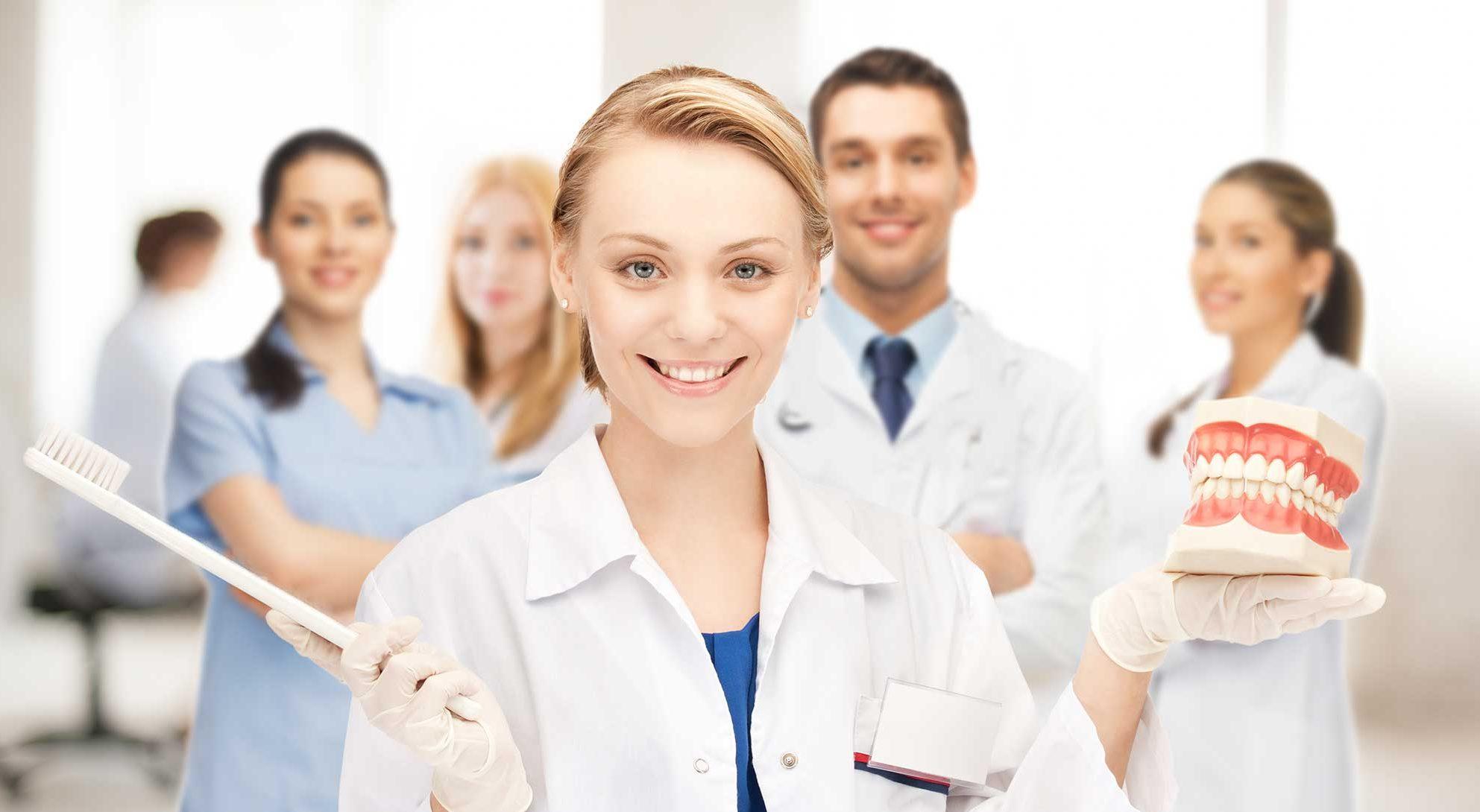 uniting a dental team
