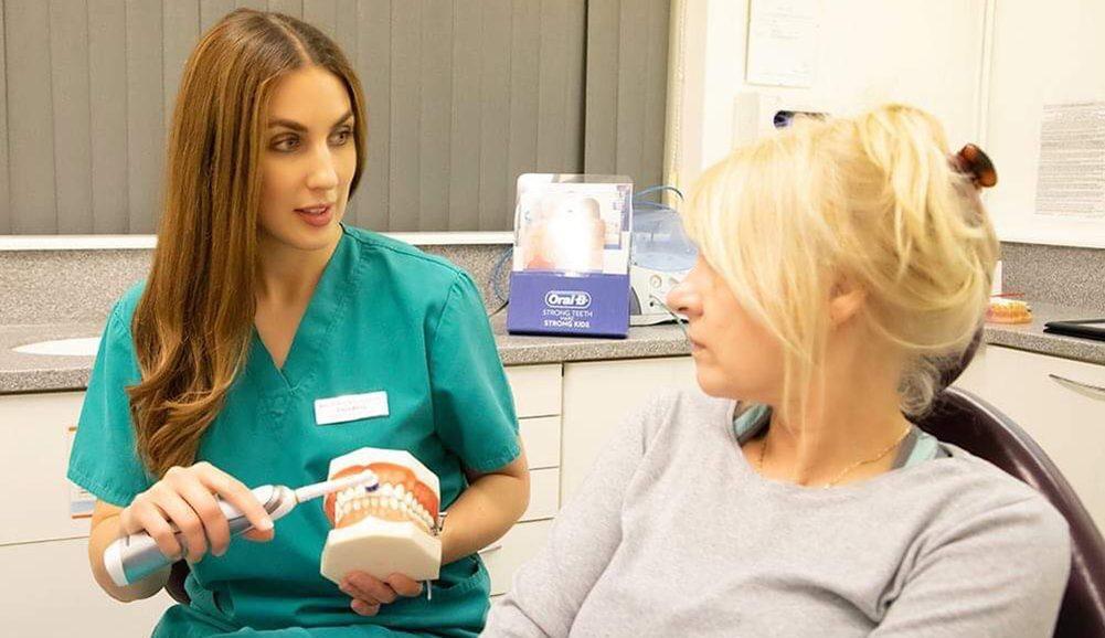 dental hygienist in practice