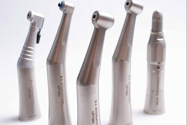 BA International slow-speed handpieces