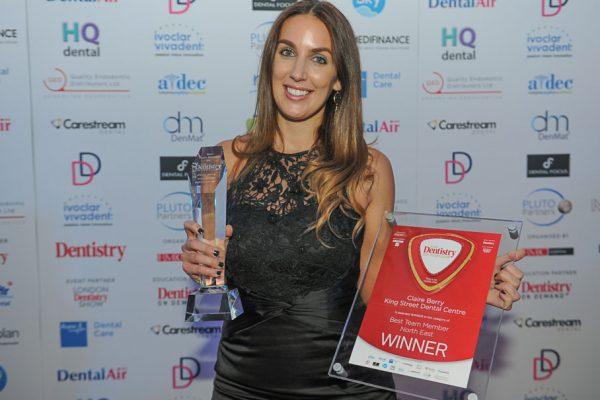 Claire Berry award winner