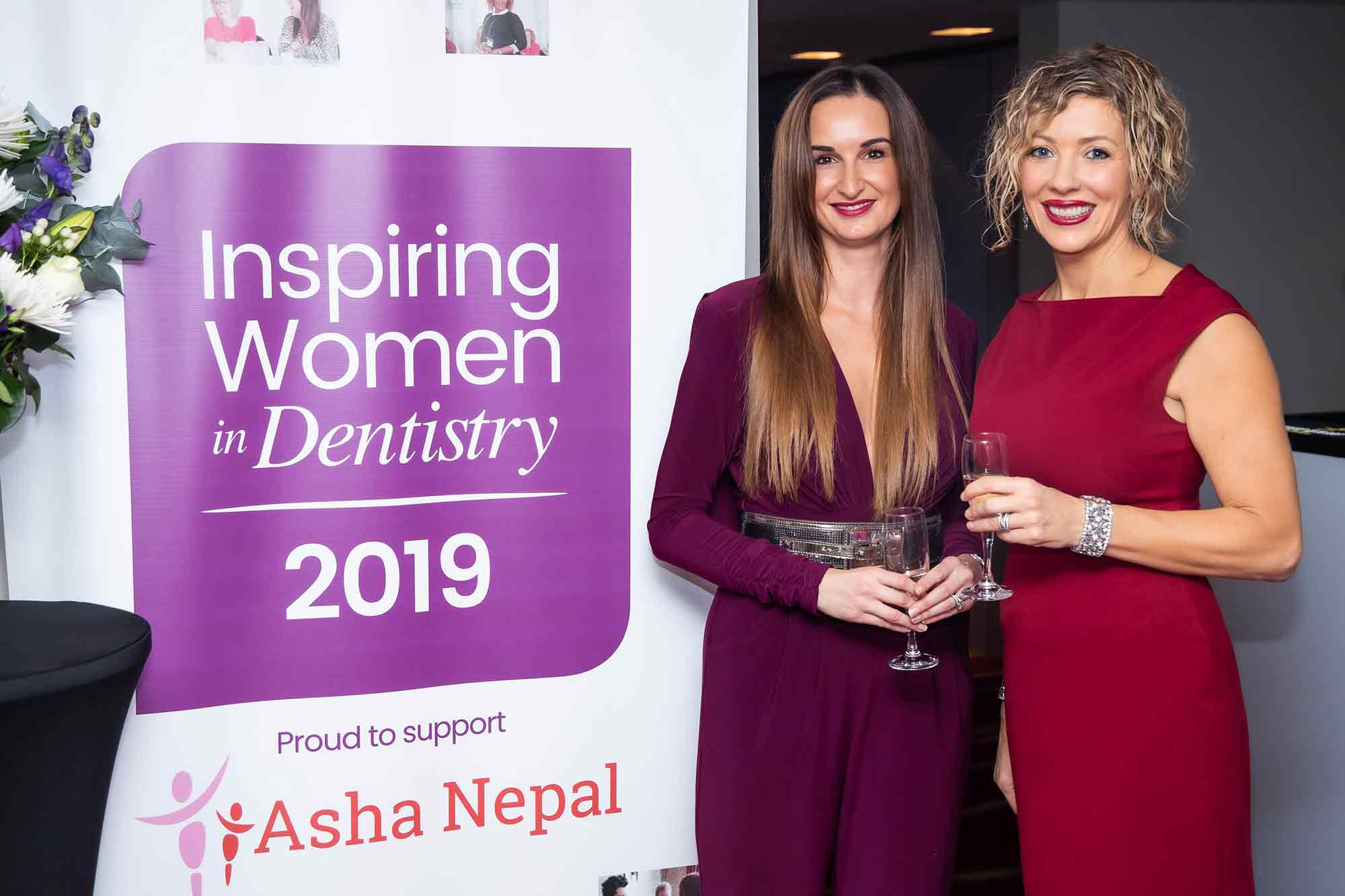 Martina Hodgson and Andrea Ubhi at the Inspiring Women in Dentistry conference