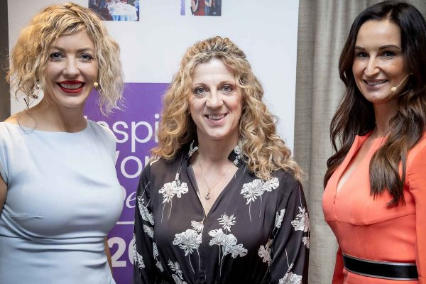Sally Gunnell at the Inspiring Women in Dentistry conference
