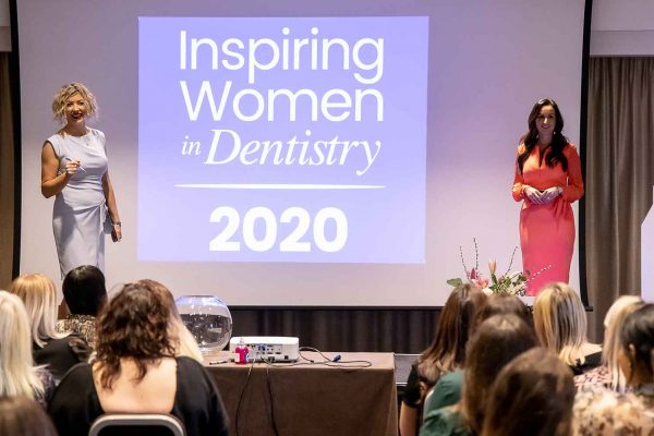 speakers at Inspiring Women in Dentistry conference