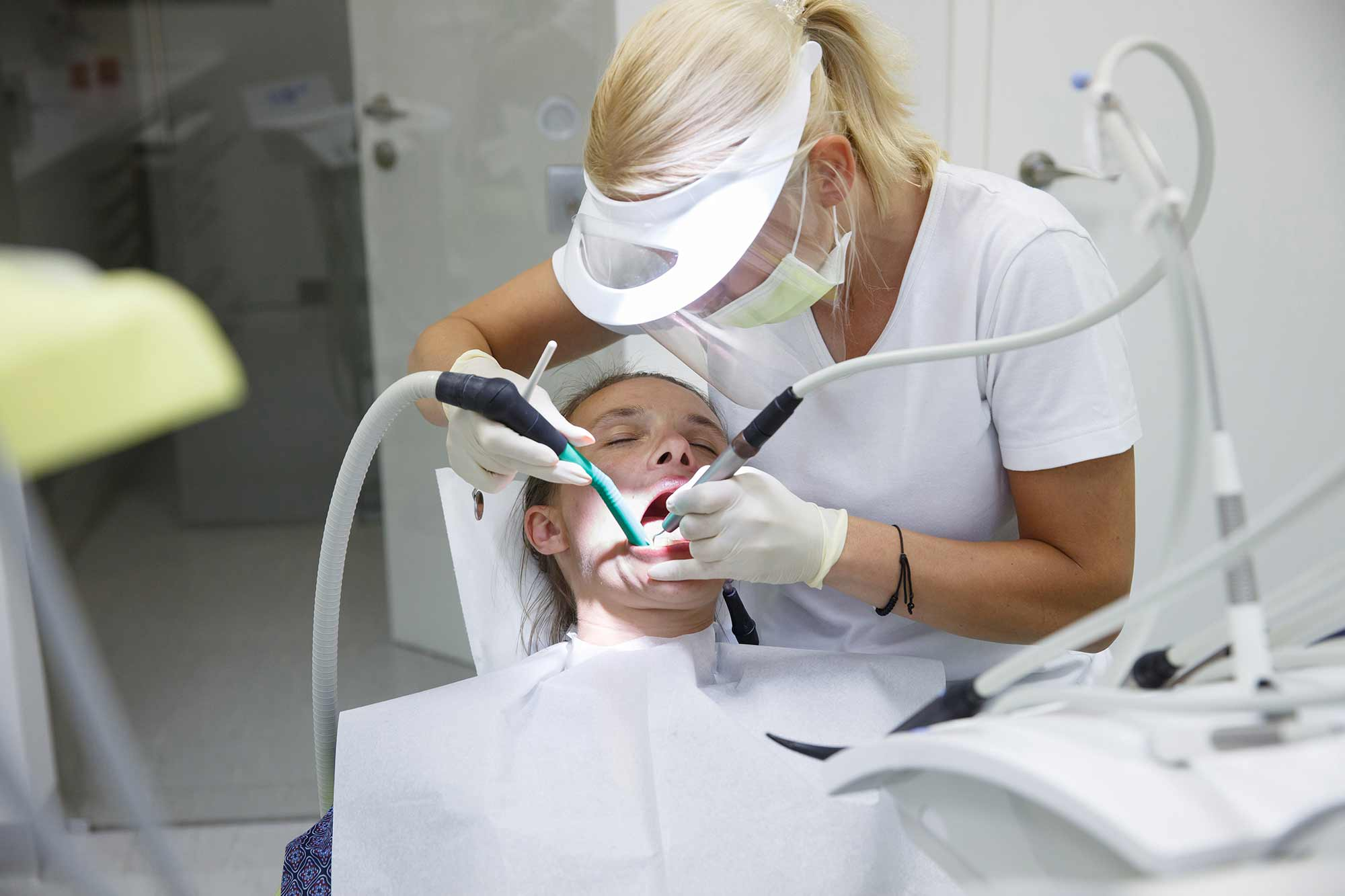 Dental professionals are among the most at risk jobs when it comes to health, according to a study
