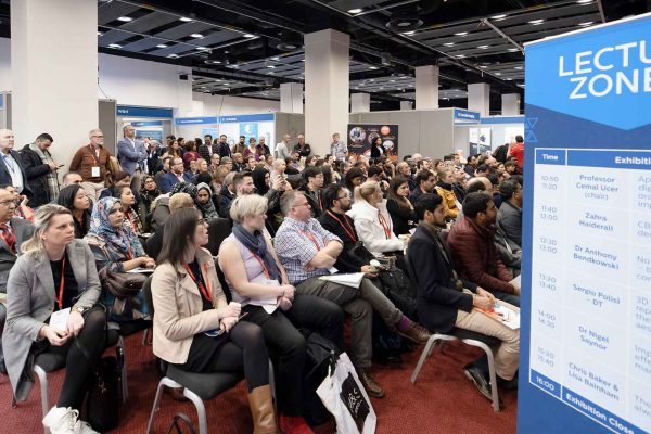 delegates at the implant dentistry show