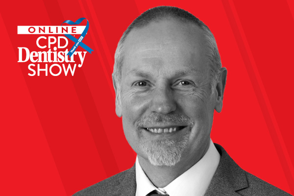 Leo Briggs at the Online CPD Dentistry Show