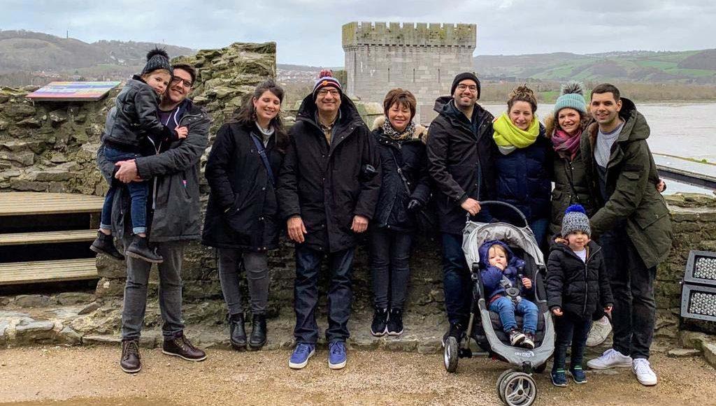 Tony Jacobs family