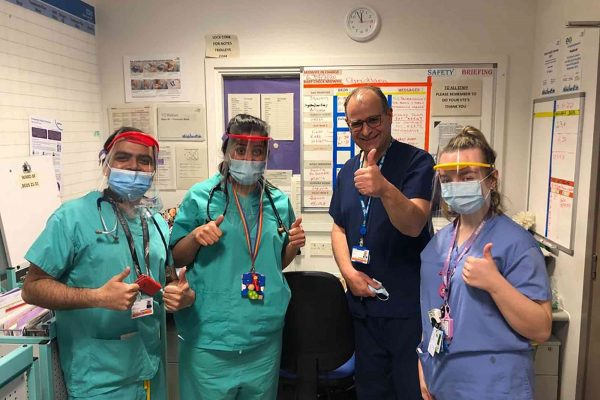 Dentists at Barts Health NHS Trust have been redeployed to other departments to assist coronavirus efforts