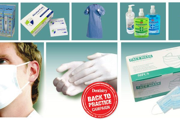Bambach lists all the PPE it is offering dentists