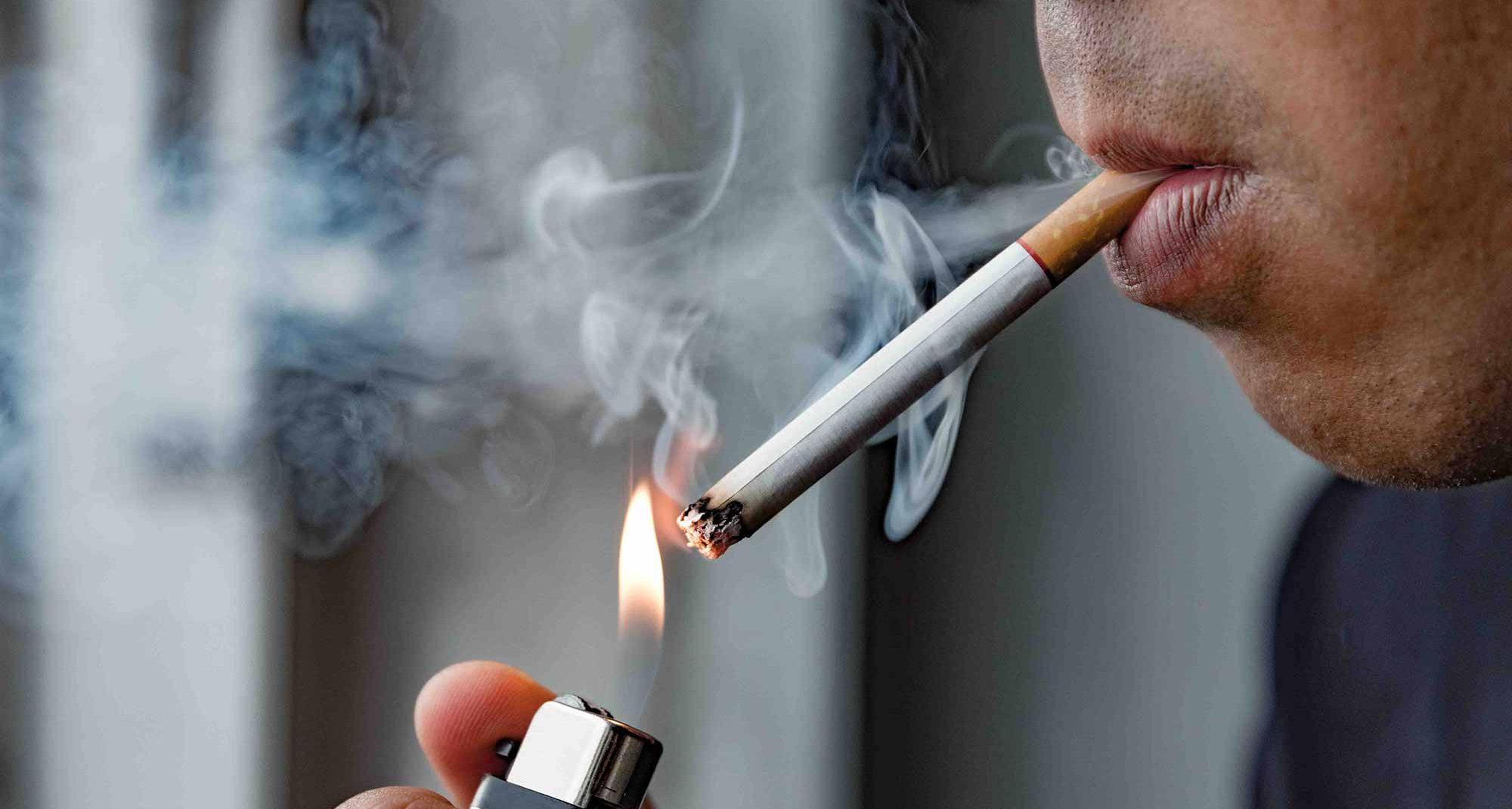 smoking and changing behaviour