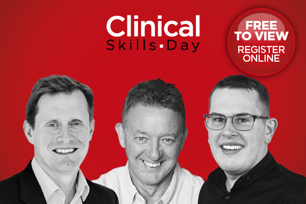 Nigel Jones, Les Jones and Matt Hadman clinical skills day