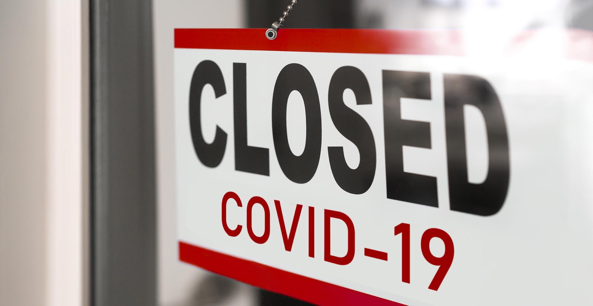 gdc closed sign