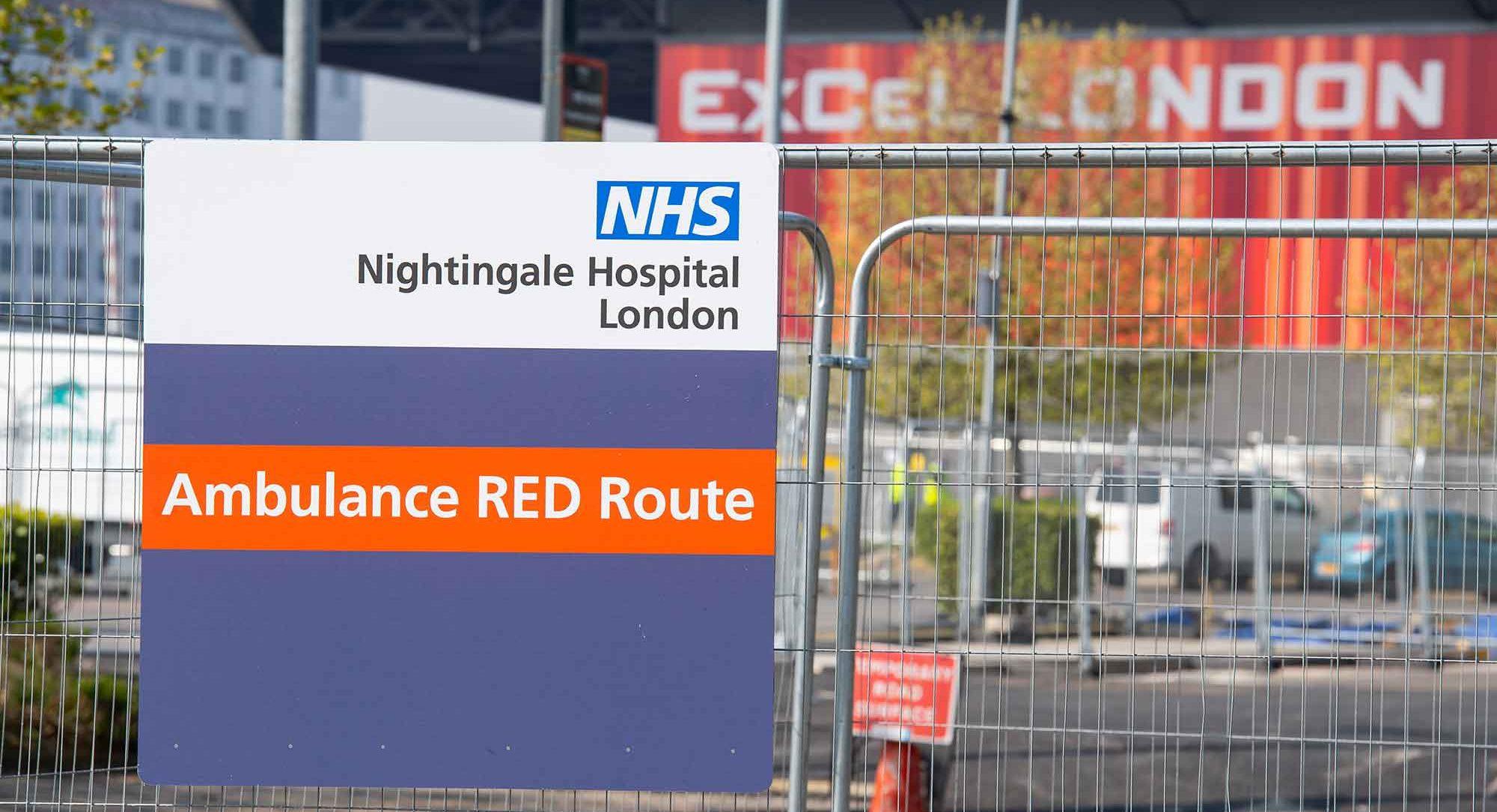 London Nightingale hospital