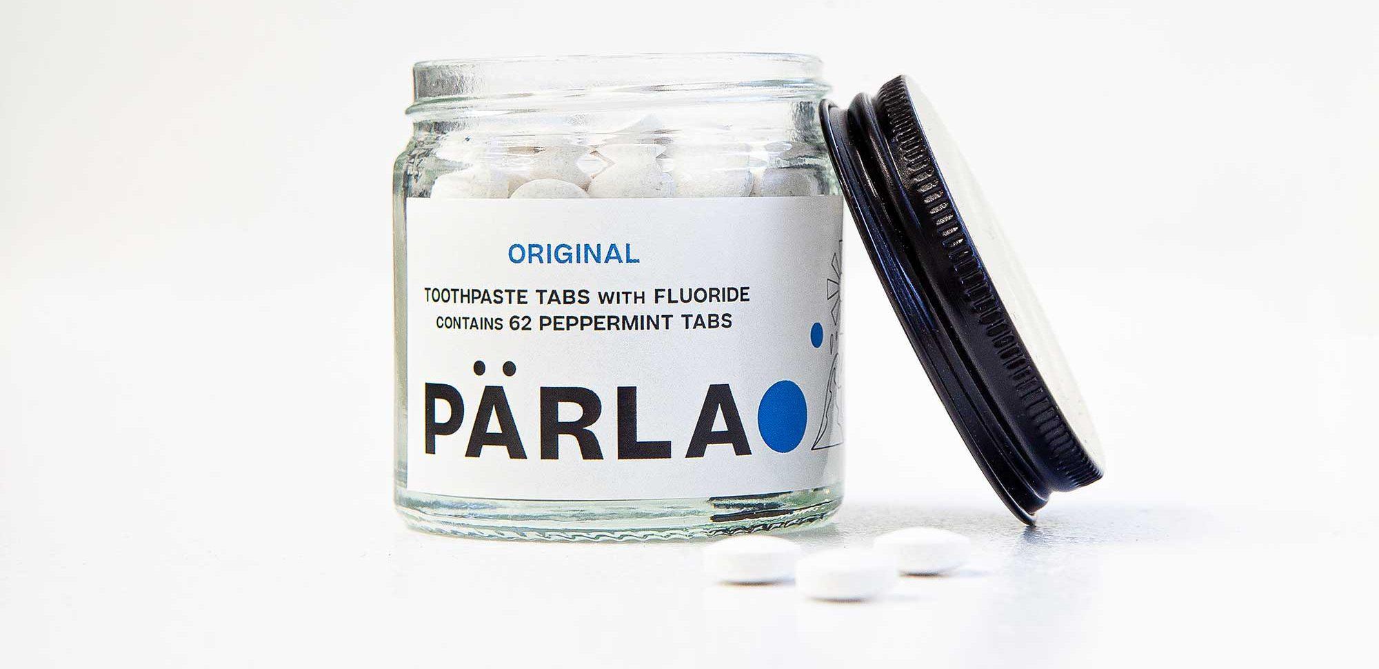 Pärla toothpaste tabs