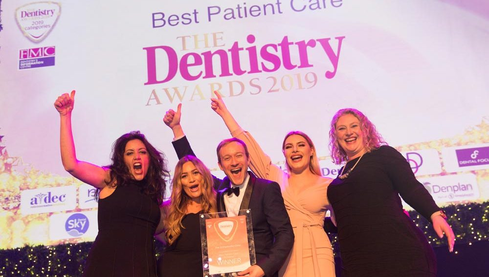 Dentistry award winners