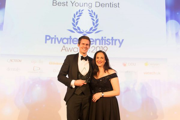 Dr Thomas Crawford-Clarke talks about picking up the Best Young Dentist accolade