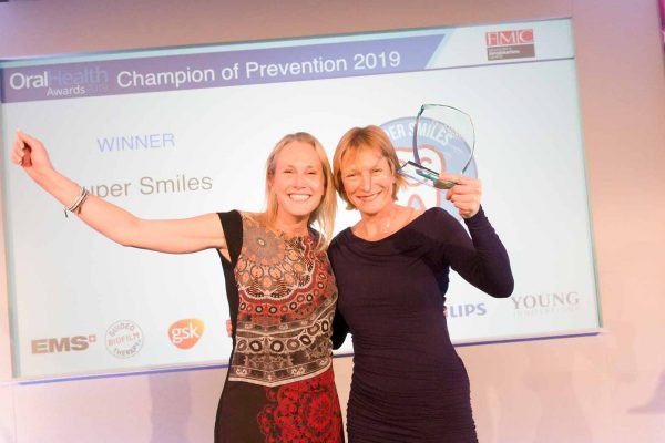 Caroline Wetherall and Sarah Pollard set up Super Smiles in 2012 to improve the oral health of children in Jersey