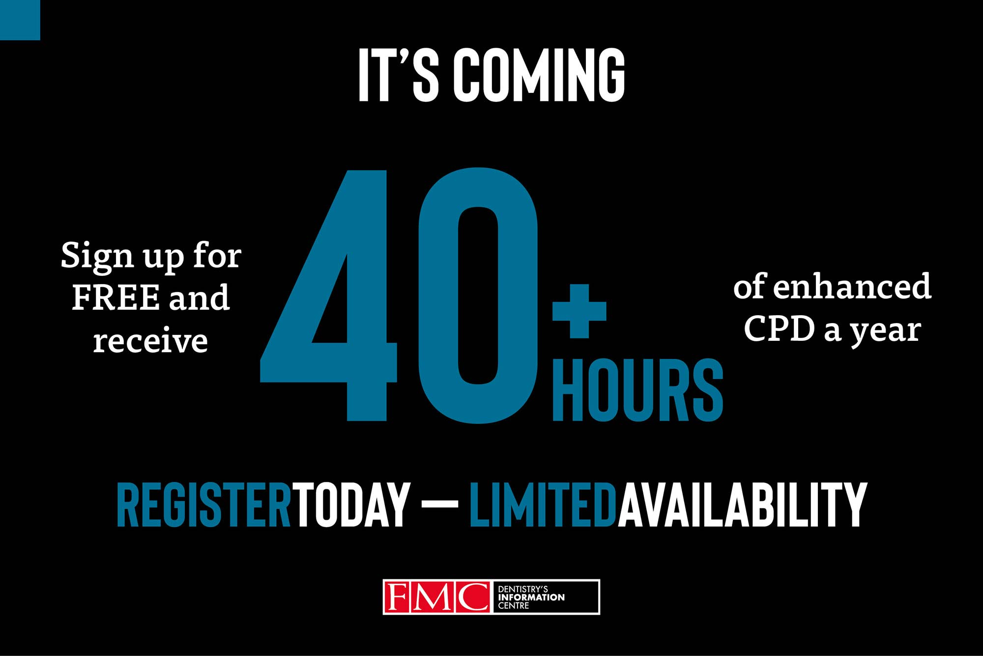 During these tough times, there's no need to worry about your upcoming year of CPD – we can give it to you for free