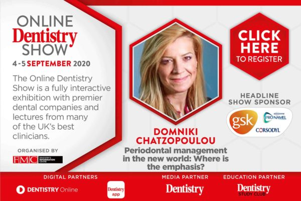 The very first Online Dentistry Show is coming to your screens this September with headline sponsors GSK