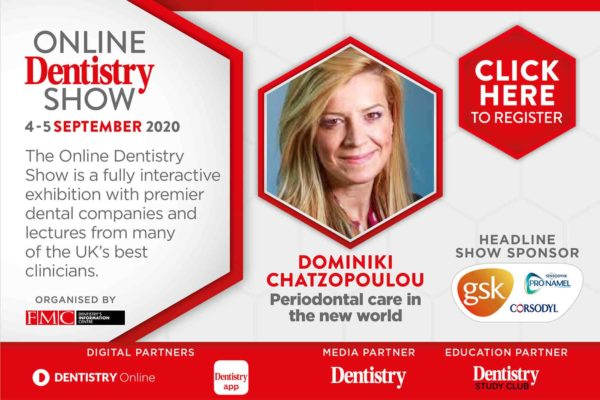 The very first Online Dentistry Show is coming to your screens this September with headline sponsors GSK – and includes an exciting range of topics from some of the UK's leading speakers