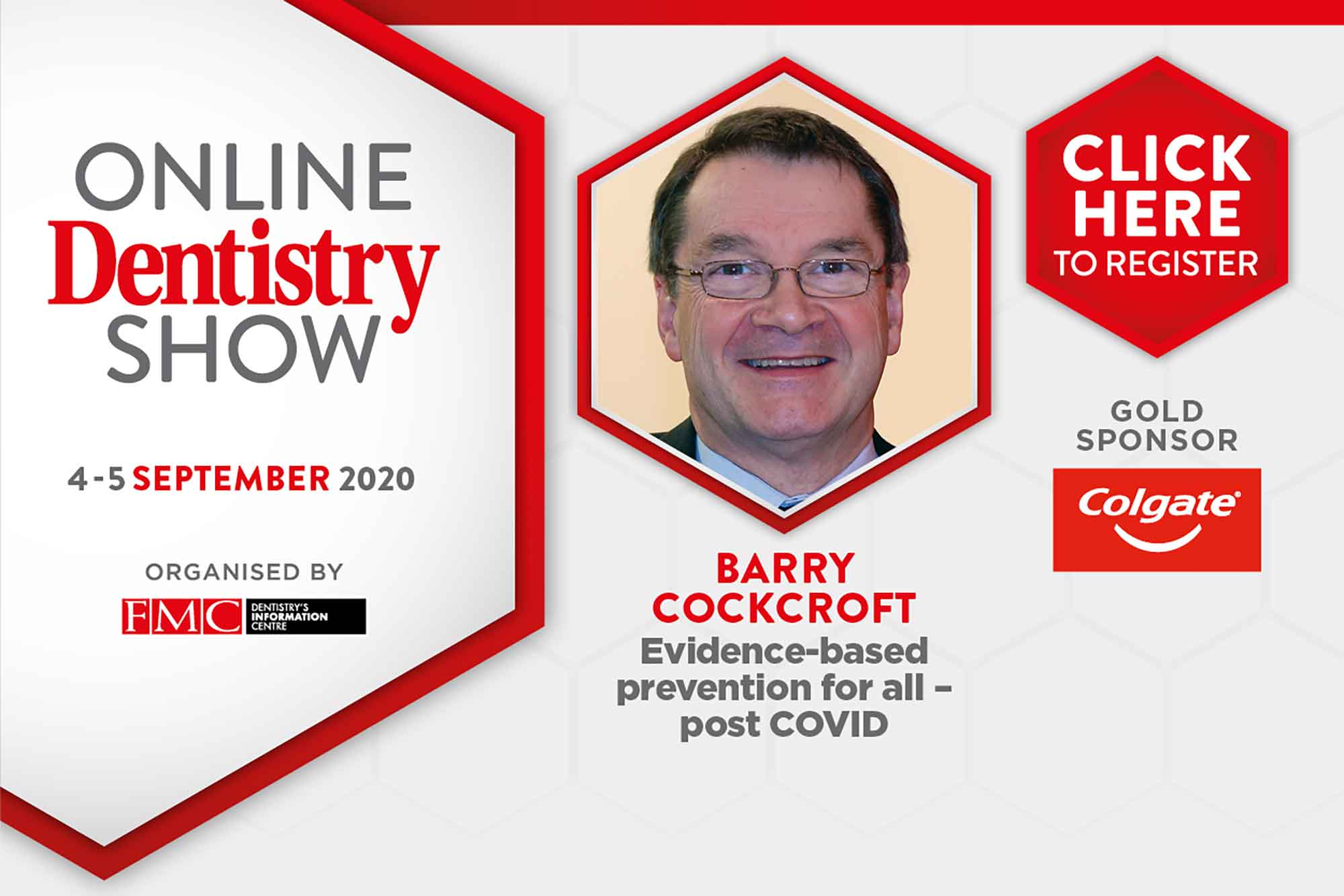 Barry Cockcroft will talk at the Online Dentistry Show