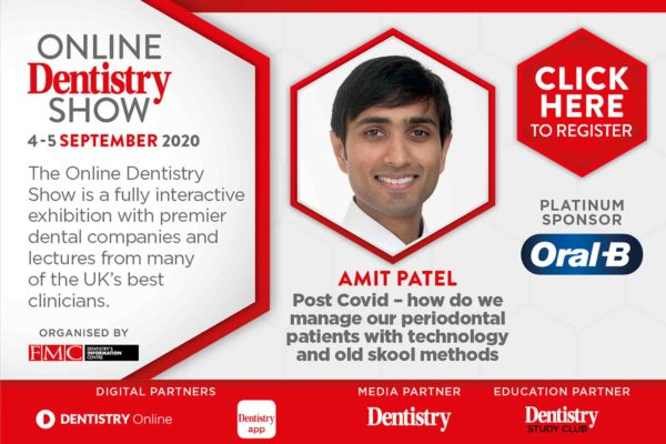 Coming this September, the Online Dentistry Show is putting on the very first virtual exhibition in UK dentistry with support from platinum sponsors, Oral-B