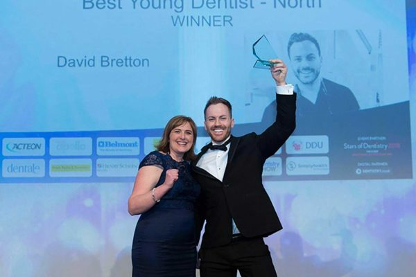 David Bretton talks about what is was like to win the 'Best Young Dentist' award and why he believes the awards are worthwhile