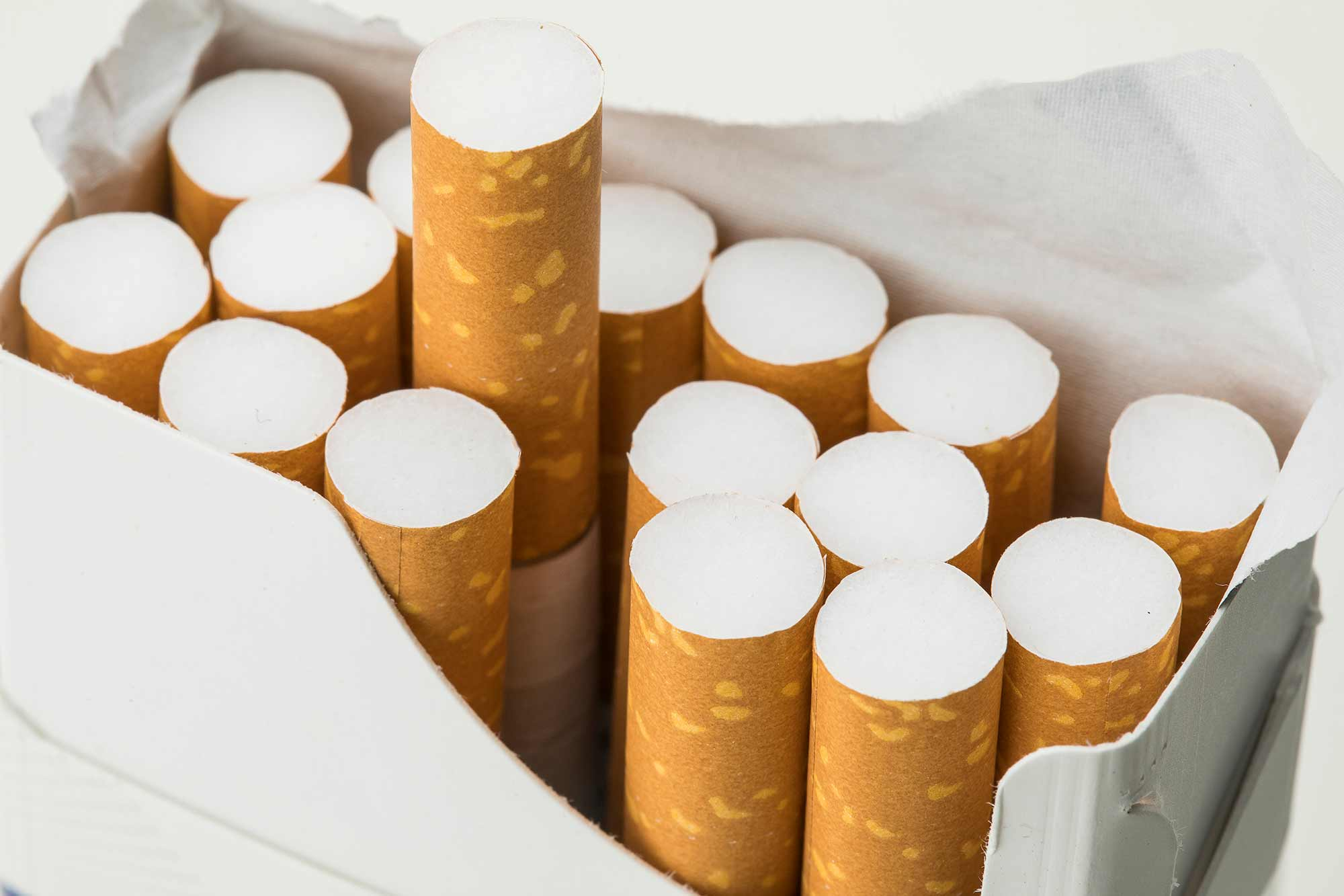 The introduction of plain, standardised packaging has led to a drop in cigarette sales