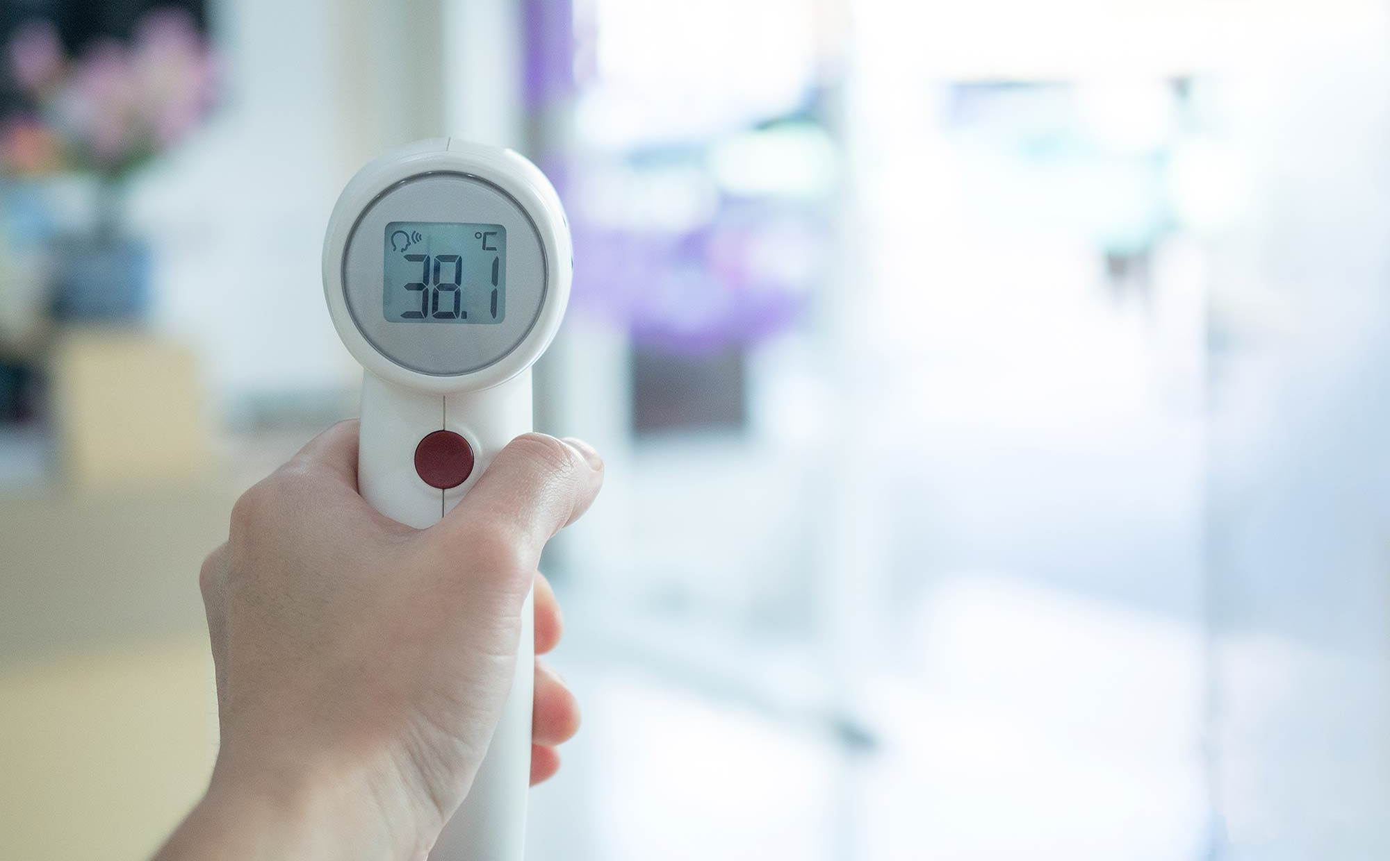 The government is urging the UK to use temperature screening products with caution